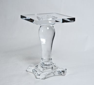 Lucite Table Base Home Products Furniture Tables Side