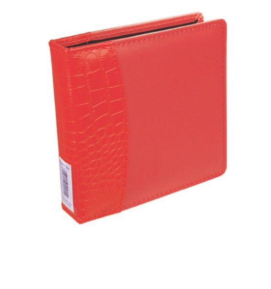 """Item # 9934229 Red 2-Ring Album. Richly Padded cover with textured alligator spine. Holds up to 25 Ultra PRO 2-Ring 4"""" x 6"""" Photo or CD Pages (sold separately). Available Only at your Local Walmart Photo Center! Available in Red, Pink, and Black."""