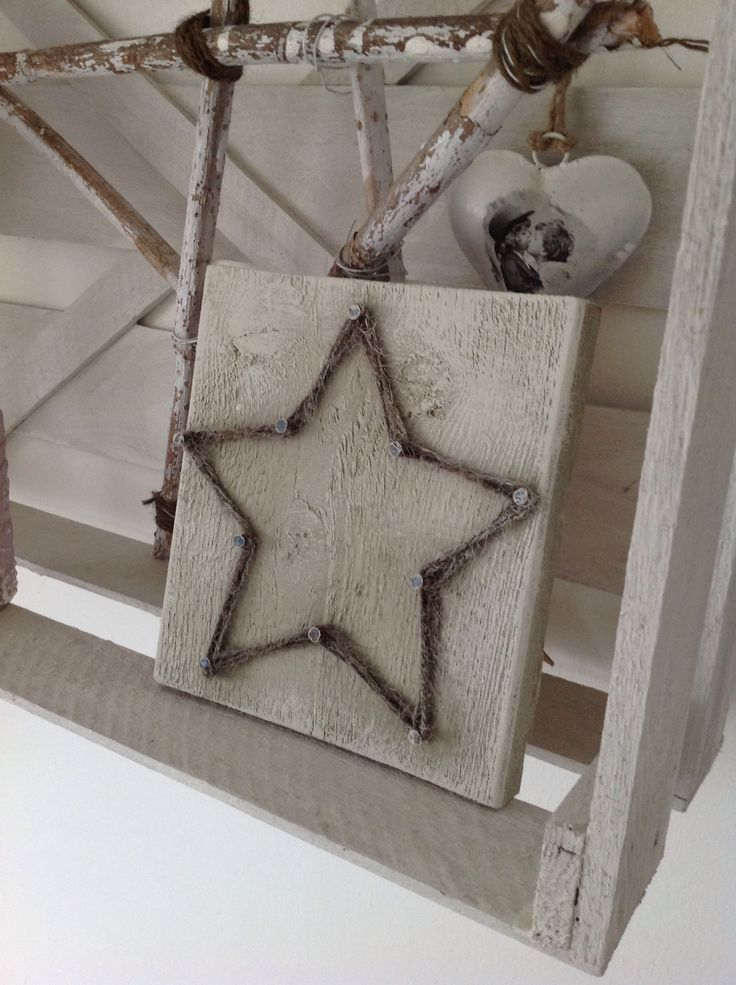 A rustic star that fits perfectly in our bedroom. Like to keep it simple ⭐️