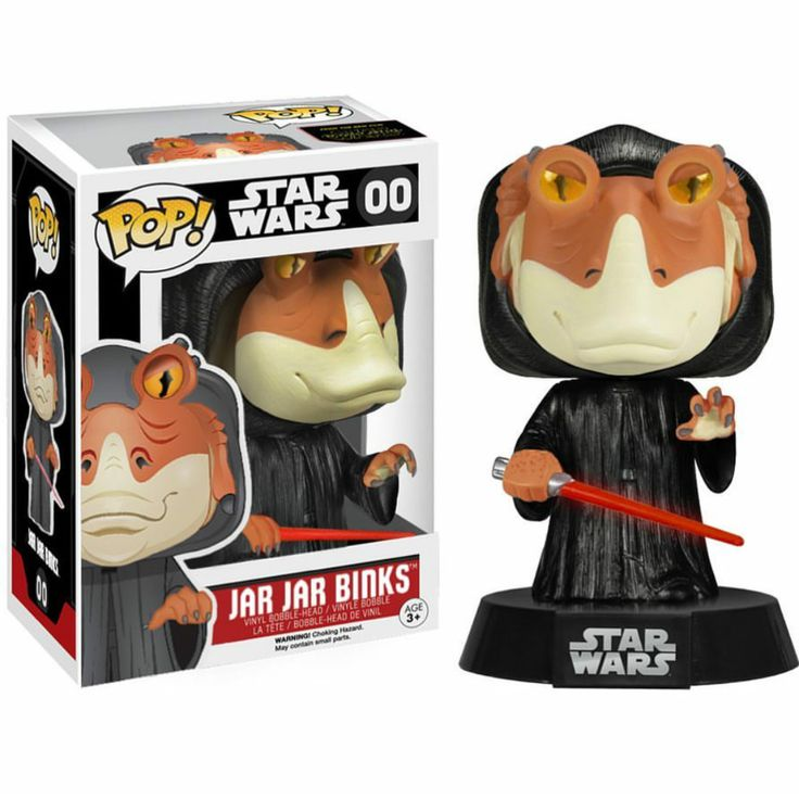 Fan Creates Custom Funko POP! for Darth Jar Jar — GeekTyrant