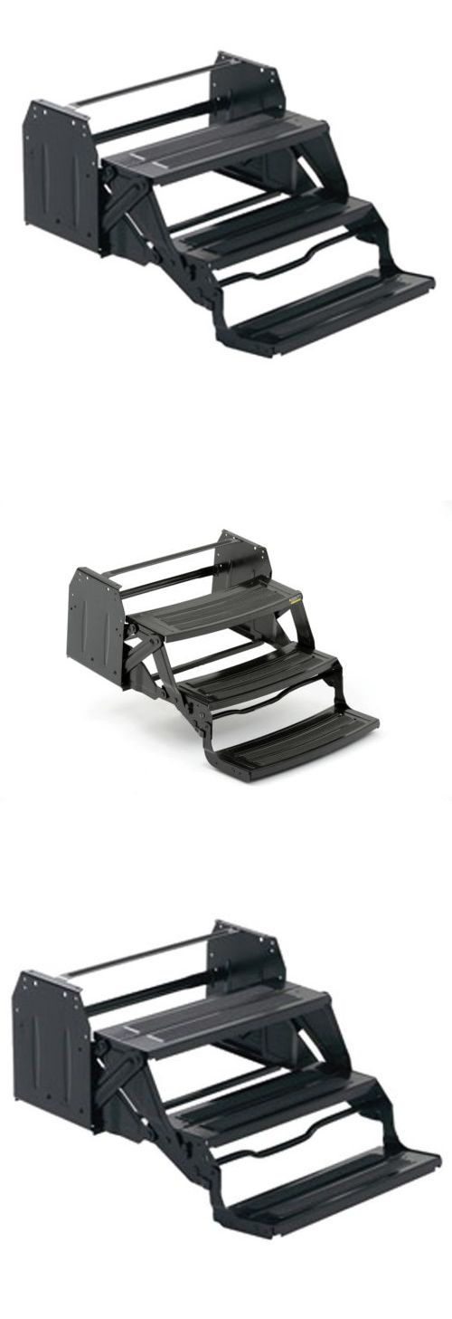 Ramps and Stairs 116389: Rv Steps Stairs Ladder Camper Trailer Platform Ladder Entry Triple Pull Out -> BUY IT NOW ONLY: $169.01 on eBay!