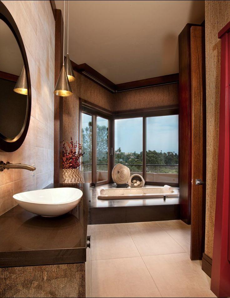 Asian Master Bathroom