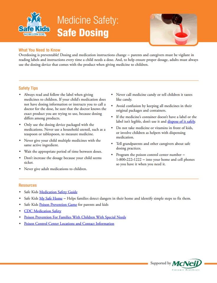 Medication Safety > Safe Dosing >