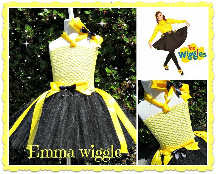 Emma Wiggle tutu- available at Booti Tutu on Fb https://www.facebook.com/pages/Booti-Tutu/168330183178846?fref=ts