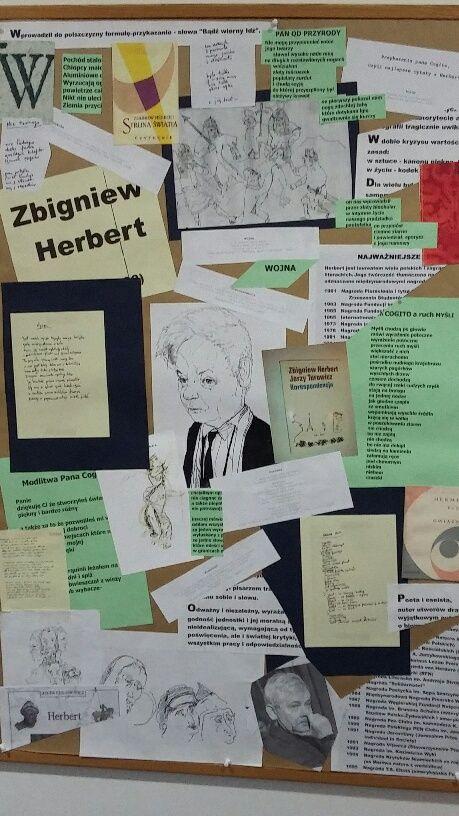 """Zbigniew Herbert  """"Bądź wierny Idź"""""""