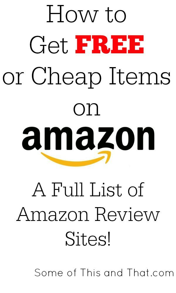 Want to do reviews and get free or cheap items from Amazon? You don't have to be a blogger with this list of Amazon review sites!