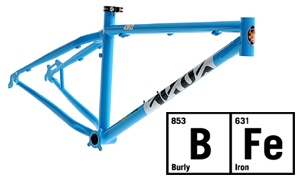 The BFe is the hardnut of the Cotic family. It shares its geometry with our Soul trail bike, but takes things in an altogether more direct and aggressive direction for riders wanting something to depend on in the craziest terrain. Certified for 100-160mm forks, the BFe will take the fight to the trail from the Megavalanche to the 4X start gate, taking in hard trail riding and crazy steep uber-tech on the way.