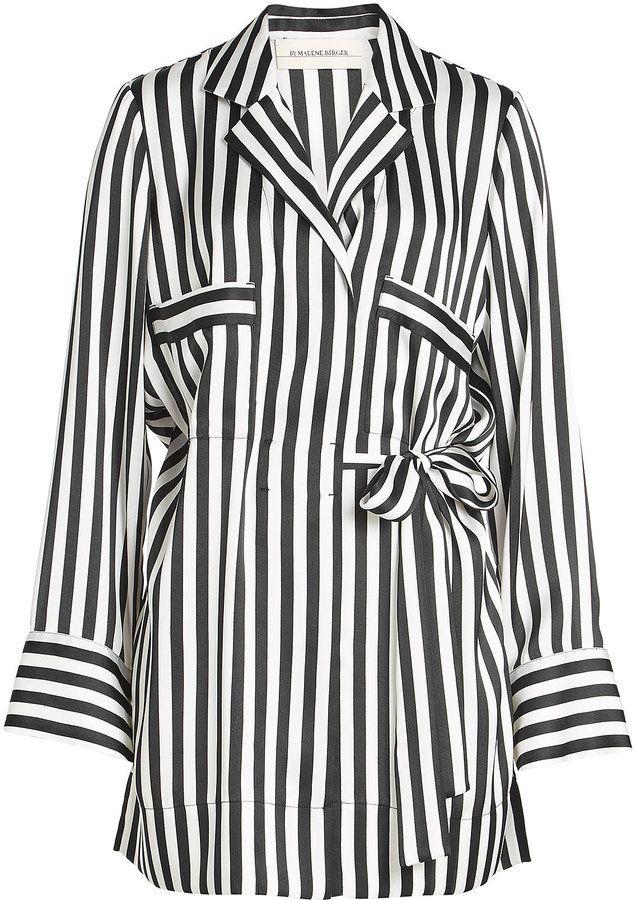 By Malene Birger Veste de pyjama rayé