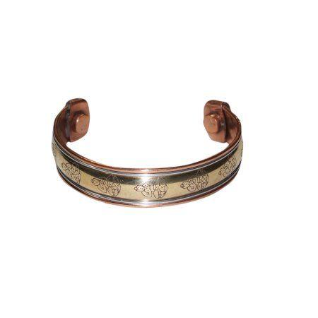 Mogul Peaceful Buddha Gift Magnetic Copper Cuff Bracelet    https://www.walmart.com/search/?query=MOGUL%20INTERIOR%20cuff%20bracelet