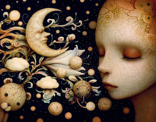 """REM Sleep"" by Naoto Hattori,,I Would Love to Have a Copy of this to Hang in My Bedroom."