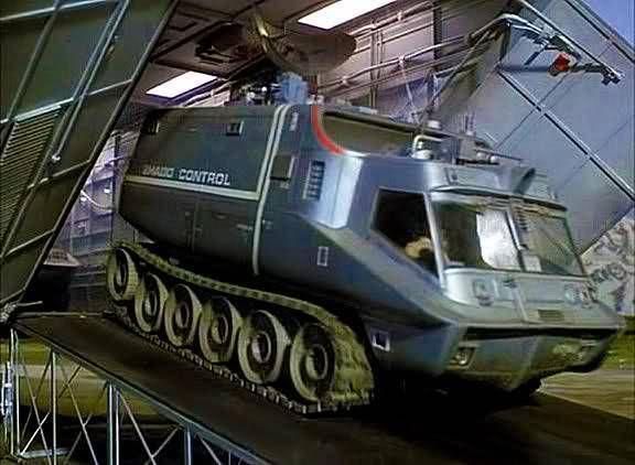 Mobile de contrôle, série UFO, 1969
