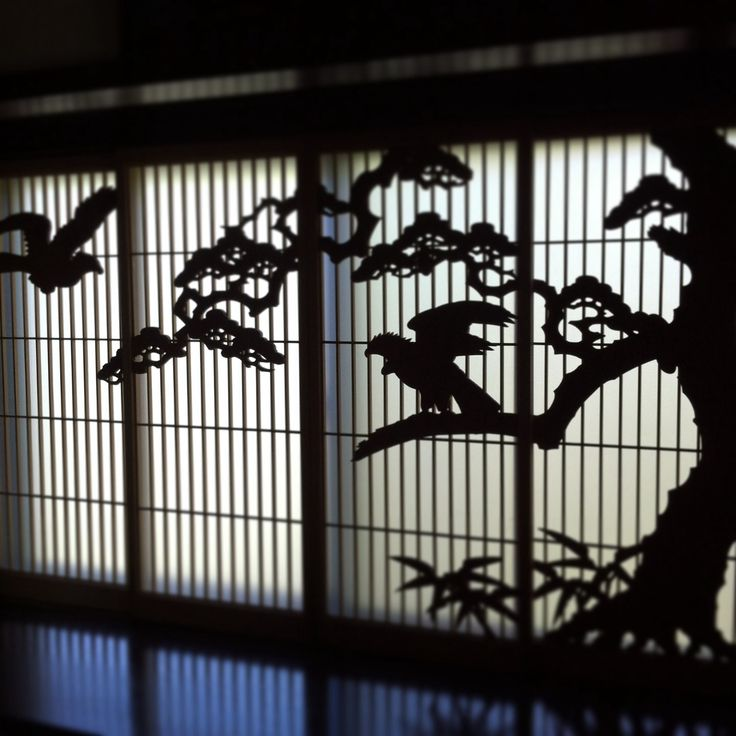 Window of an old Japanese house