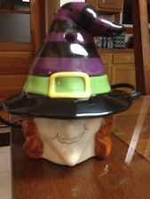 NEW YANKEE CANDLE  ELECTRIC TART WARMER HALLOWEEN WITCH/HAT