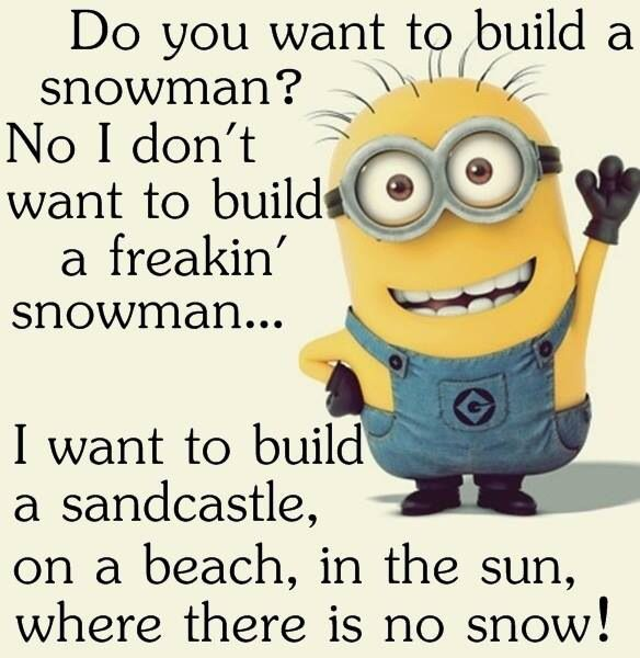 Do you want to build a snowman...