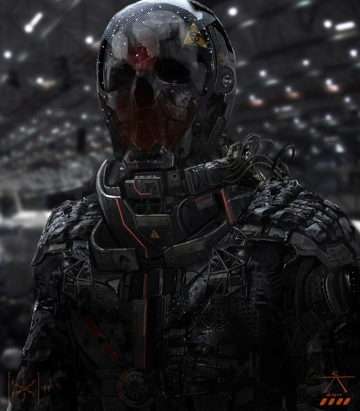 Sci-Fi Art: Chimera Infantry - 2D Digital, Sci-fiCoolvibe – Digital Art