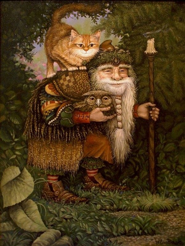 The Wise Old Man of the Forest.         ALEXANDER MASKAEV