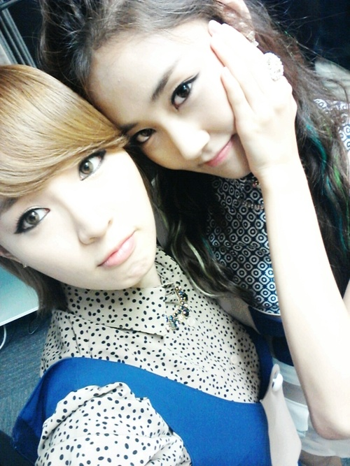 4 minute, jiyoon and gayoon