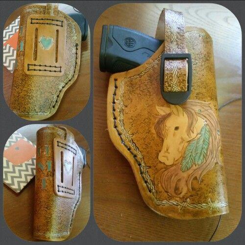 Custom Leather Handgun Holster