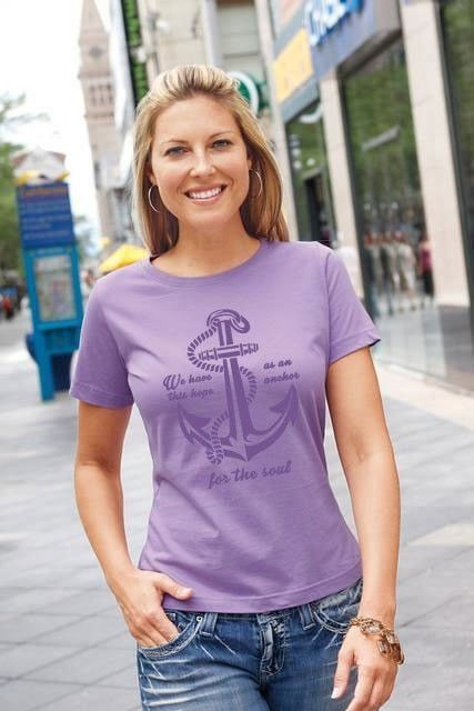 We Have This Hope - Anchor - Women's T-Shirt - Clearance