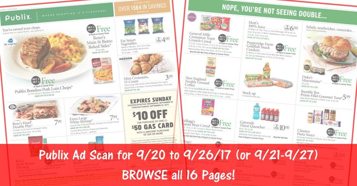 Anybody want to BROWSE the actual upcoming Publix Weekly Ad Scan for 9/20 (or 9/21 for some)? Here is the Publix Weekly Ad Scan for 9/20/17 - 9/26/17 (9/21-9/27 for Some)! Click the Picture below to BROWSE all 16 Pages ► http://www.thecouponingcouple.com/publix-weekly-ad-scan-9-20-17/  Visit us at http://www.thecouponingcouple.com for more great posts!