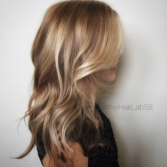 Soft blonde highlights #theHairLabStl