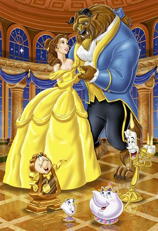 Beauty and the Beast. And I thought sleeping beauty was always my favorite, I…