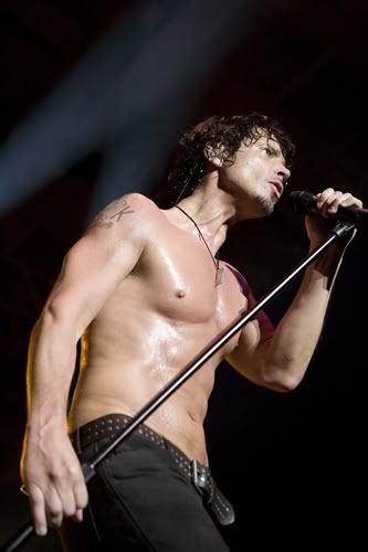 "Chris Cornell.. i have a board called ""desserts yummy"" i think this picture belongs on there!"
