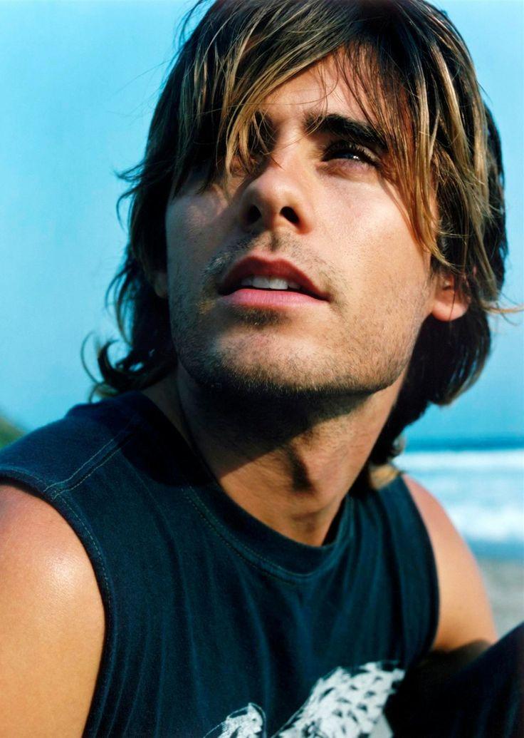 Jared Leto-Major want for xmas.  long hair, short hair...whole lot of hot.  Androgynous and fab.