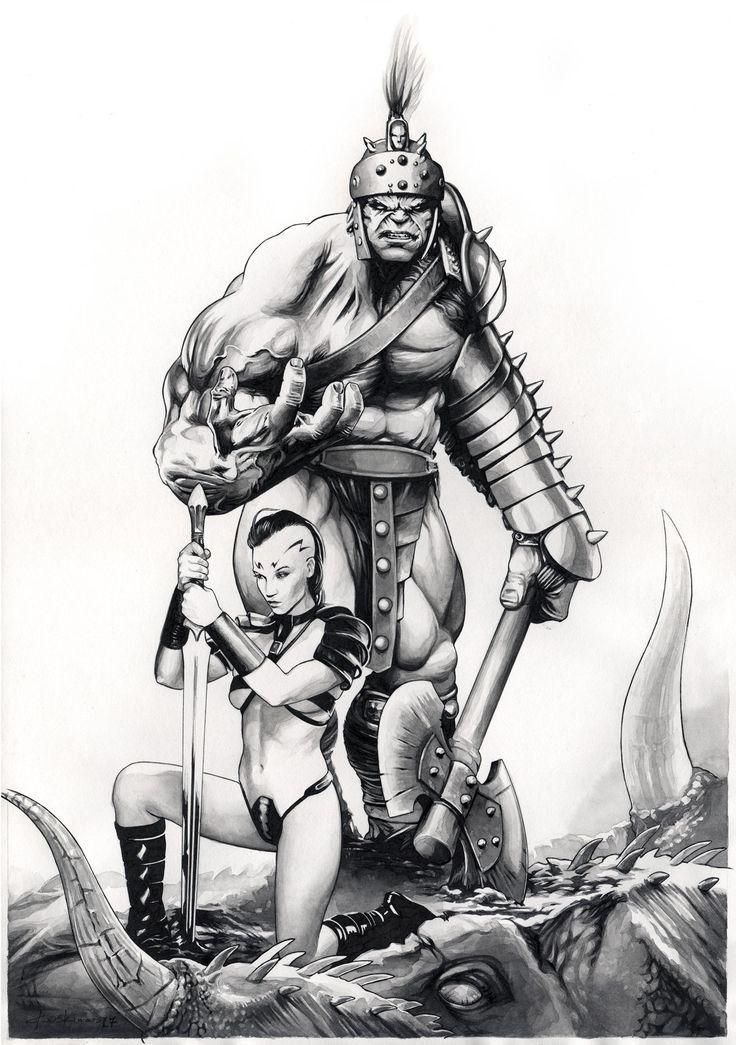 Planet Hulk: Hulk and Caiera