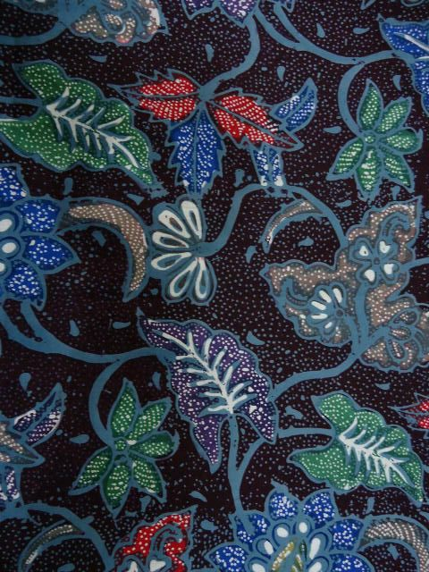 Colorful Batik Pekalongan.
