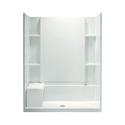 """Sterling by Kohler Accord 60"""" Shower Kit with Age-in-Place Backers 