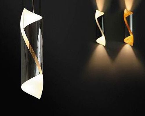 Description: Hubert Suspension  Material: Polished steel Dimensions: 370mm high x 80mm dia.  Lamp: Halopar 50W 230V GU10 included