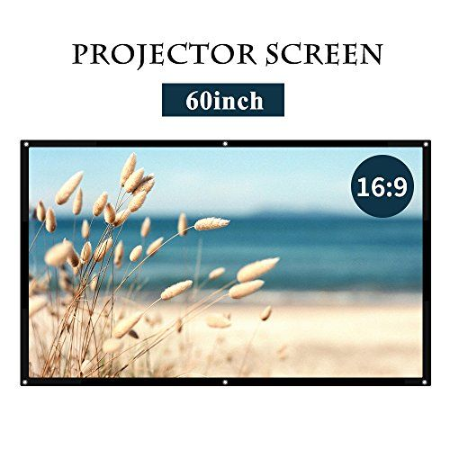 16:9 White Projector Screen,Portable HD Home Theater Movie Screen 75° Viewing Angle Plastic Projection Screen for Indoor Outdoor Home Cinema Office Use (60inch) #White #Projector #Screen,Portable #Home #Theater #Movie #Screen #Viewing #Angle #Plastic #Projection #Indoor #Outdoor #Cinema #Office #(inch)