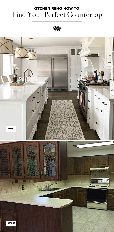 Refine Define Selecting The Perfect Countertop Best Kitchen Countertops Kitchen Remodel Countertops