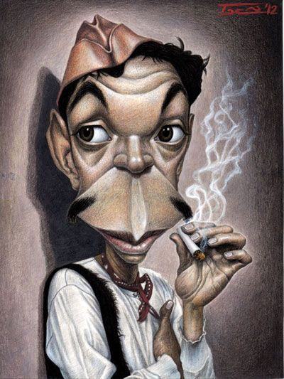 Mexican comic Actor and film producer CANTINFLAS