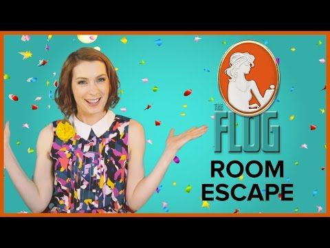 Felicia Day's The Flog!: ROOM ESCAPE w/ Zachary Levi, Seth Green, & Clare Grant - YouTube