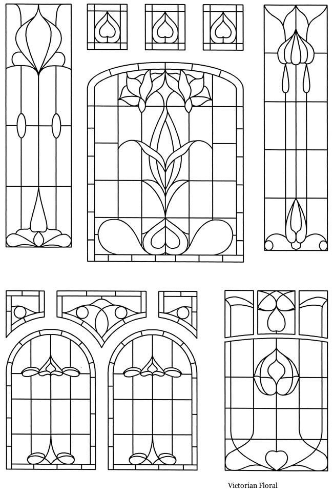 Victorian Stained Glass Designs Welcome to Dover P…