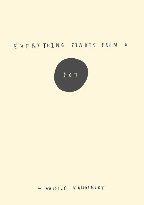 Wassily #Kandinsky - Everything starts from a Dot ... www.bauhaus-movement.com