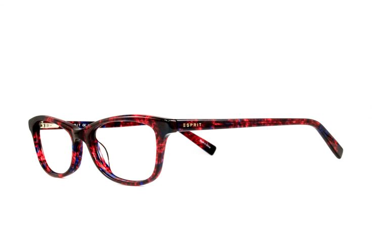 All of the colors of fire make this Esprit frame perfect for cooler weather style. #eyewear #womensfashion #esprit