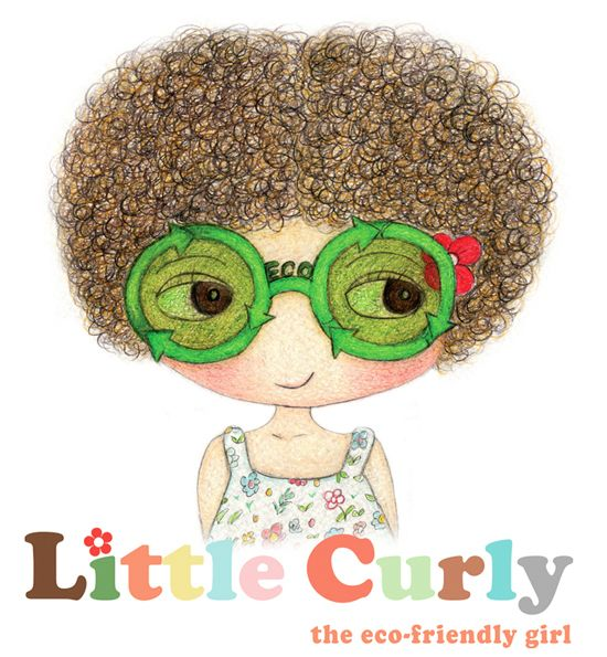 Little Curly the eco-friendly girl  online shop @ www.littlecurly.com