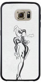 Harley Quinn - Sketch design for your Samsung Galaxy S6 Guardian Case by Coveroo. Premium quality printing on OtterBox, Mophie and other top cases.