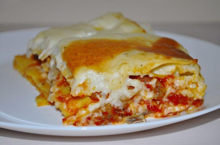 domowa lasagne bezglutenowa