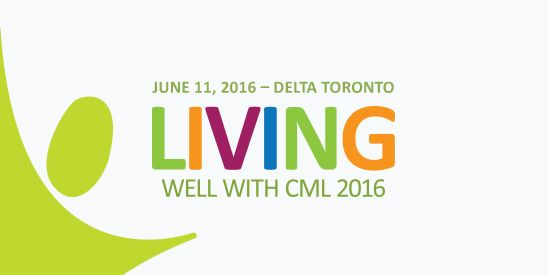 Join CML-IQ Columnist Lisa Machado in Toronto on June 11th for the annual Living Well with ‪#‎CML‬ conference. The main topic of discussion with be Fatigue. Speakers include Stephanie Phan, from the Fatigue Clinic at Toronto's Princess Margaret Cancer Centre, meditation expert Linda Morinello, Dr. Jeff Lipton, Princess Margaret Cancer Centre and life coach, Sue King. Read more - http://cml-iq.com/living-well-with-cml-2016/