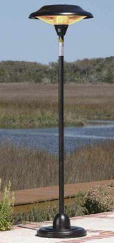 Floor Standing Bronze Steel Halogen Patio Heater . $199.00. Our Hammer Tone  Bronze Finish Steel
