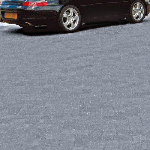 Bradstone, Driveway Block Paving Charcoal 200 x 100 x 50 - Fully Loaded - Standard - Block Paving