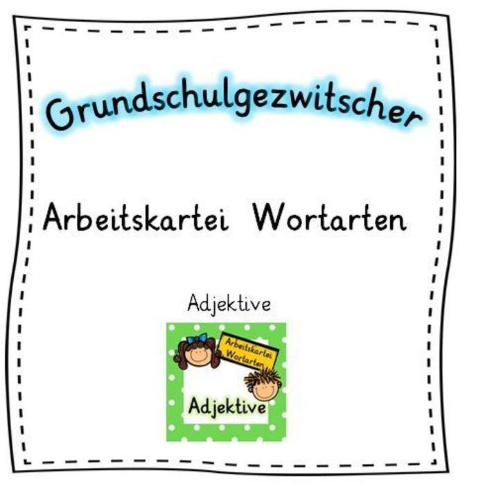 Die kurzen Arbeitsaufträge können zügig ins Deutschheft gearbeitet werden.Die Kartei kann zur Wiederholung, Festigung und Übung eingesetzt werden und eignet sich für offene Arbeitsphasen sowie zur Differenzierung und Förderung.Entsprechende Karteien zu Nomen und Verben (in zweiverschiedenen Farbvarianten) finden Sie ebenfalls in meinem Shop.Jede Kartei besteht aus 9 Aufgabenkarten und einer Titelkarte im A5-Format.FolgendeAufgabenfor...