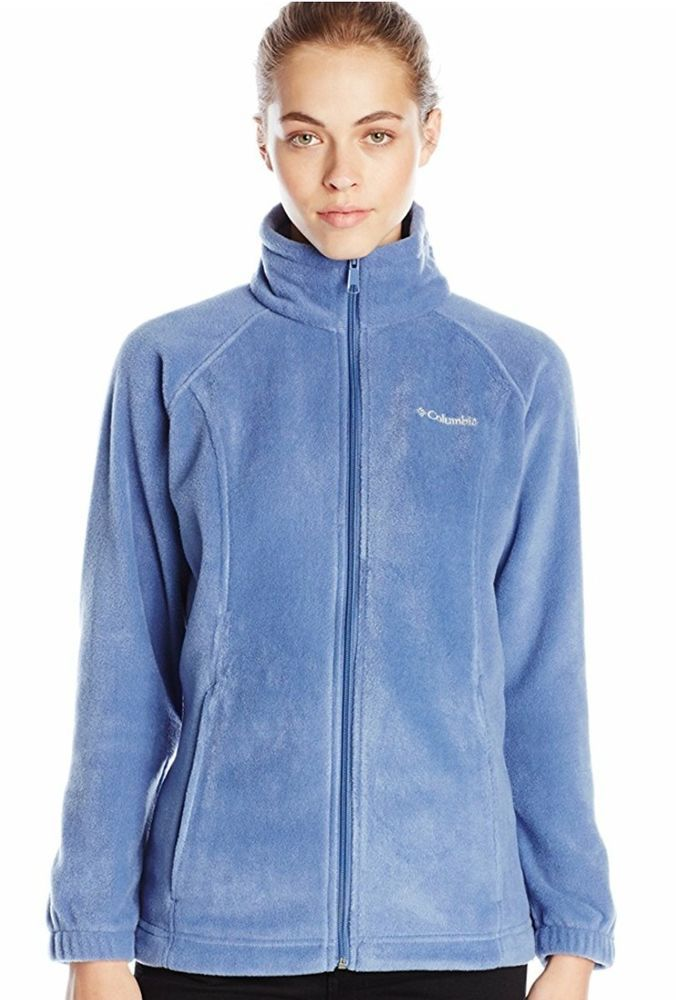 833173fdea1 COLUMBIA MOUNT CANNON BLUE FULL ZIP FLEECE JACKET WOMENS PLUS SIZE 3X NWT   Columbia  Outerwear  Casual
