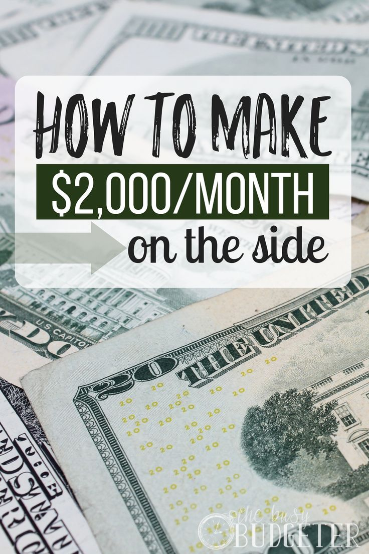 How To Make 2 000 In A Month Money Saving Tips Make