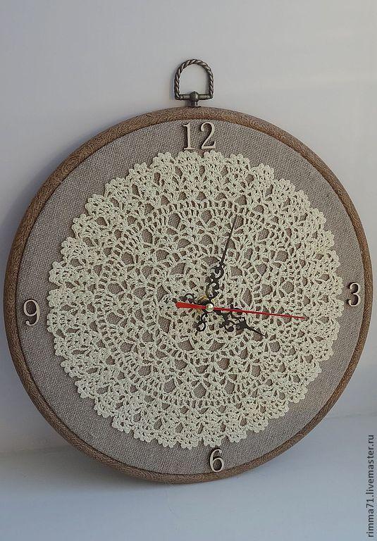 """Купить Настенные часы """"Винтажные"""" - часы, настенные часы, часы для дома, винтаж, подарок"""