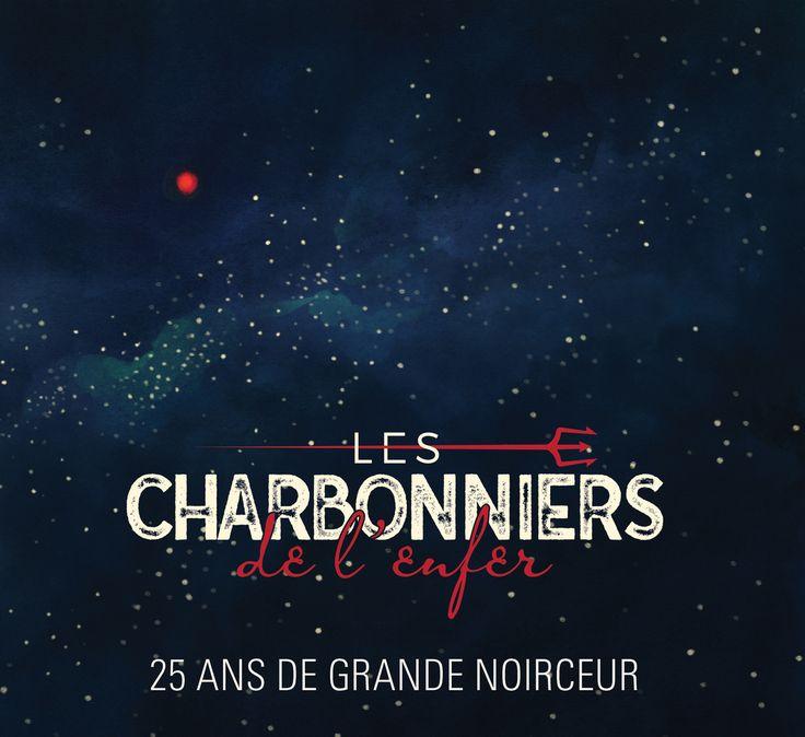 25 ans de grande noirceur - Les Charbonniers De L'enfer - Nombre de titres : 15 titres -   Référence : 00059752  #CD #Musique #Cadeau #Vacance #Chalet